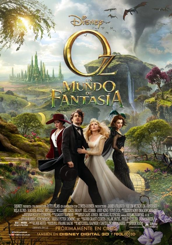 Oz, un mundo de fantasía: El origen del mago