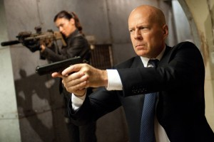 Adrianne Palicki y Bruce Willis en G. I. Joe: La venganza