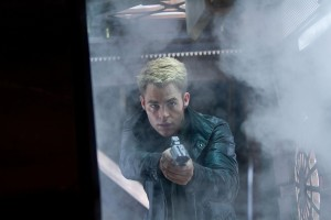 Chris Pine en Star Trek: En la oscuridad