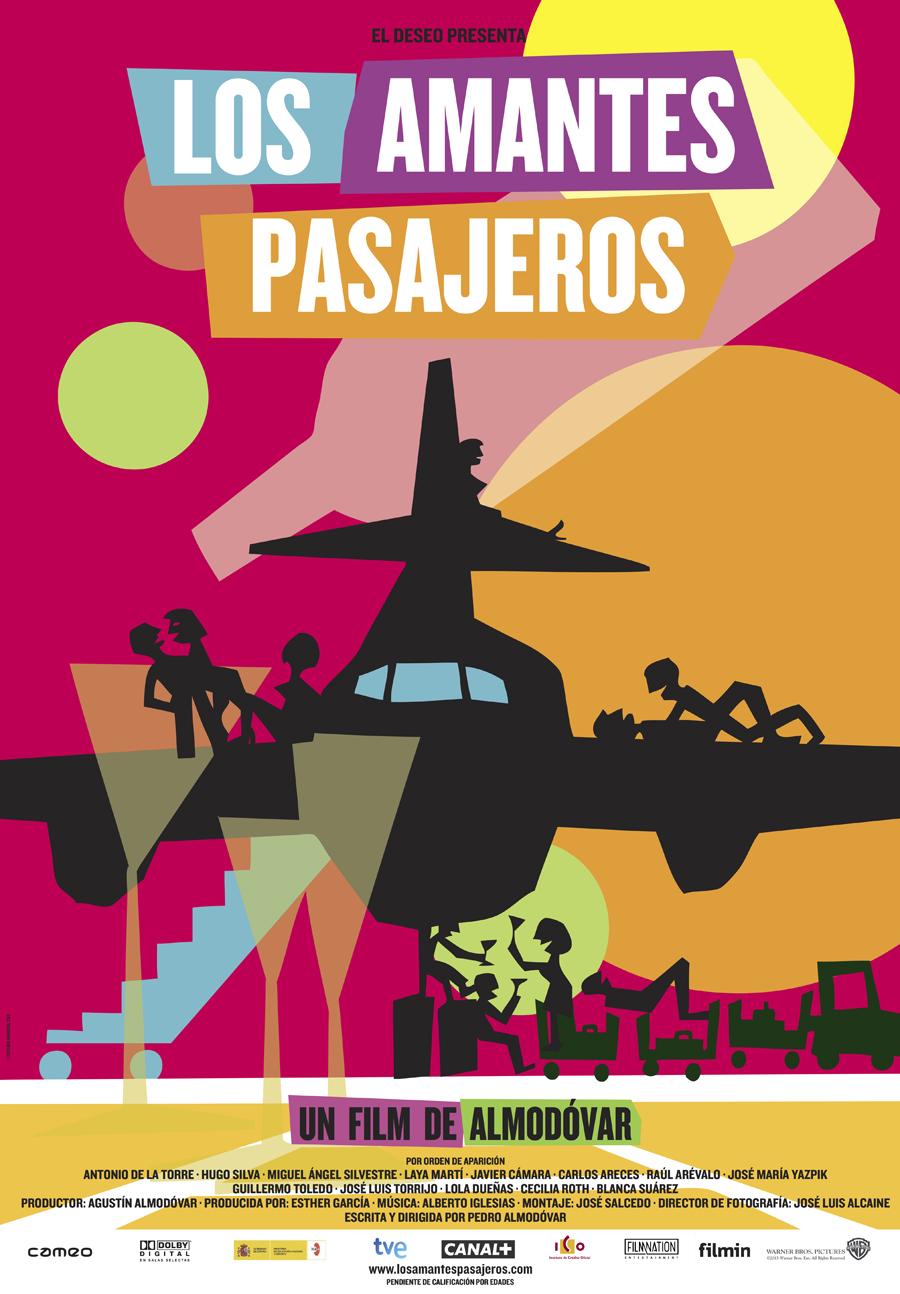 Los amantes pasajeros: Agua de Valencia, drogas, y mucha pluma