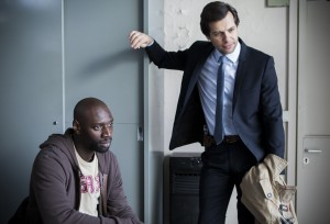 Omar Sy y Laurent Lafitte en Incompatibles