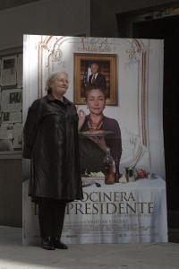 Danièle Delpeuch en la presentación de La cocinera del presidente (3)
