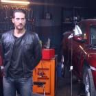 Alberto Ammann en el rodaje de Combustión (3)