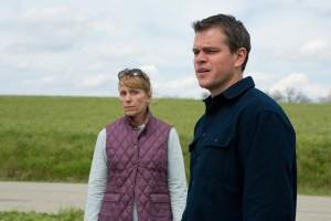 Matt Damon y Frances McDormand en Tierra prometida
