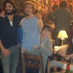 Álex García, Ivan Massagué y Leticia Dolera en el rodaje de Kamikaze