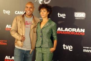 Santiago Zannou y Judith Diakhate en la presentación de Alacrán Enamorado (3)