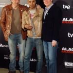Carlos Bardem, Santiago Zannou y Álvaro Longoria en la presentación de Alacrán Enamorado (2)