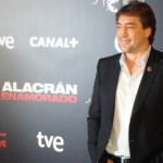Javier Bardem en la presentación de Alacrán Enamorado