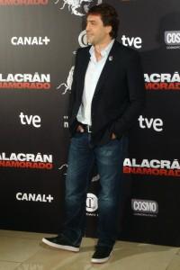 Javier Bardem en la presentación de Alacrán Enamorado (2)
