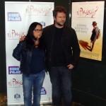 Vânia Catani y Selton Mello en la presentación de El payaso (2)