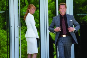 Gwyneth Paltrow y Guy Pearce en Iron Man 3