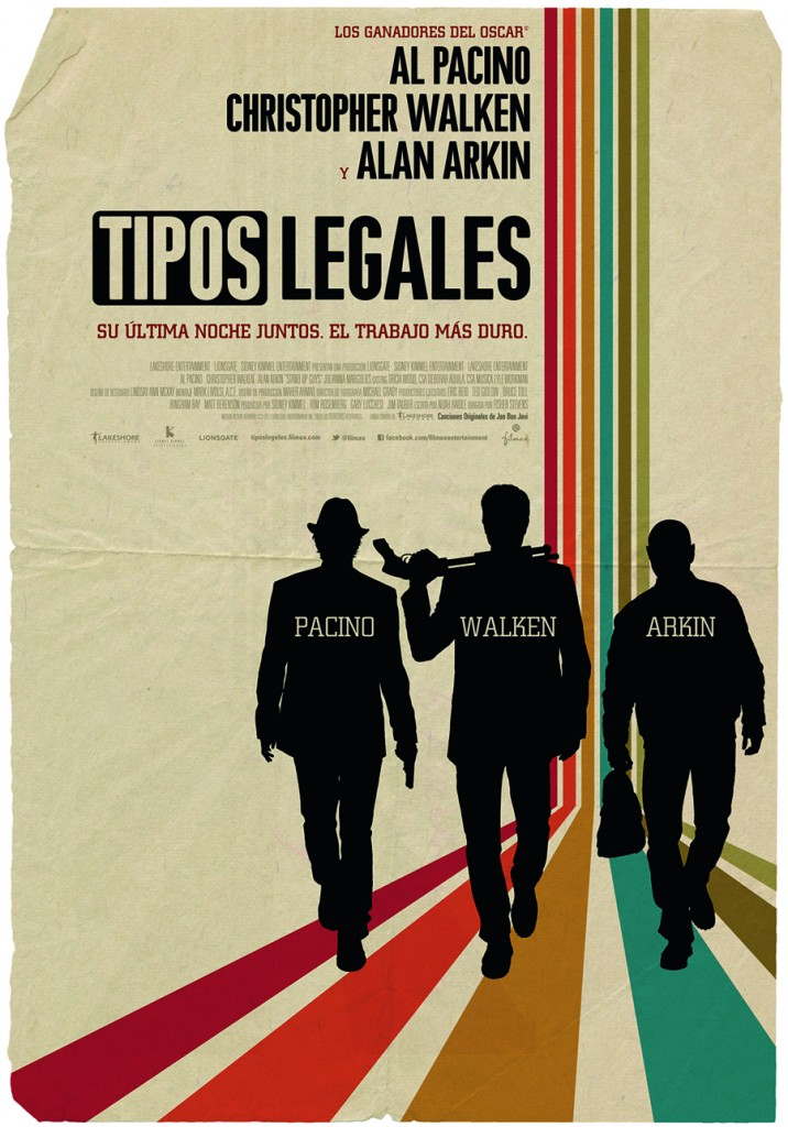 Tipos legales - Teaser Poster