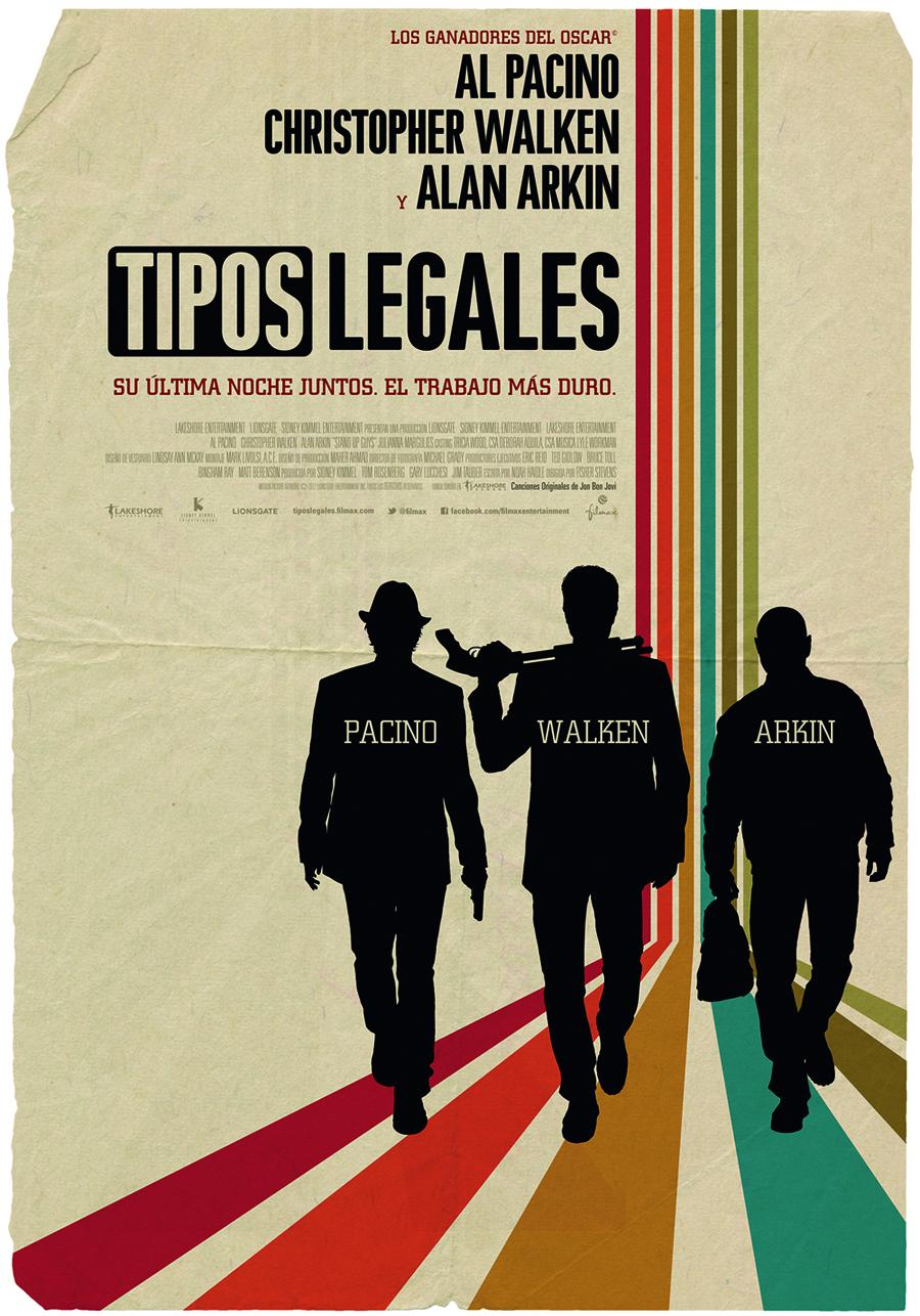 Consigue un teaser poster de Tipos legales