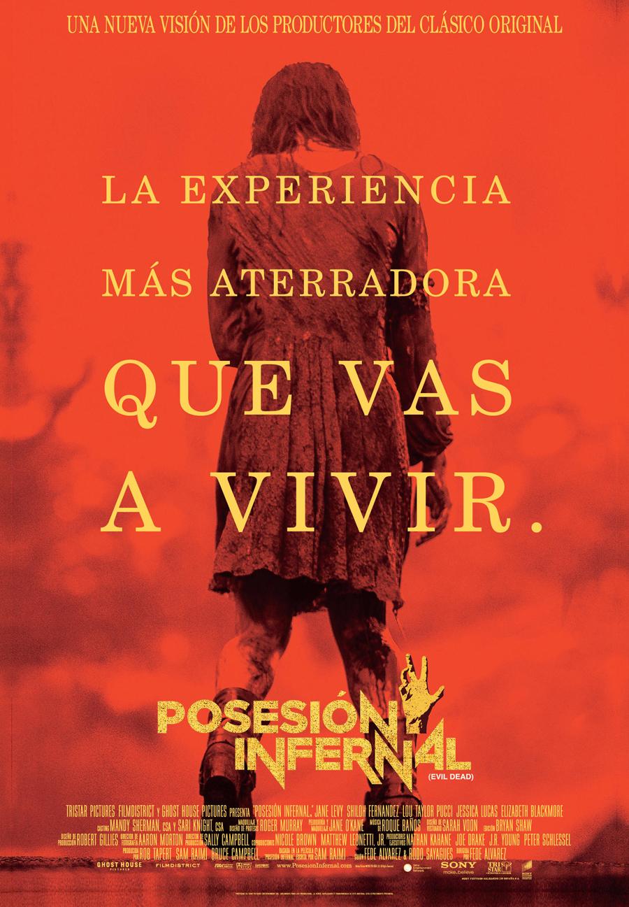Posesión infernal (Evil dead) (2013): Orgía de excesos