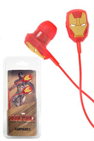 Auriculares Iron Man 3