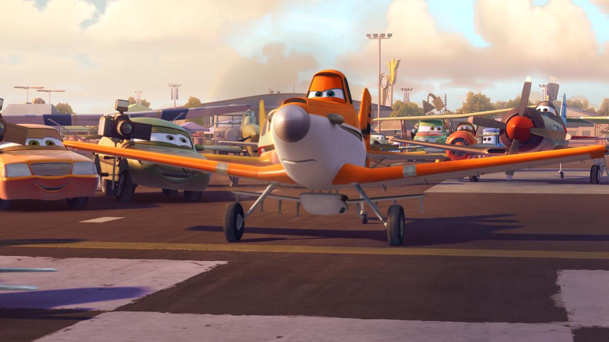Aviones: Escena exclusiva
