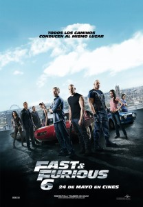 Fast & furious 6 - Poster final