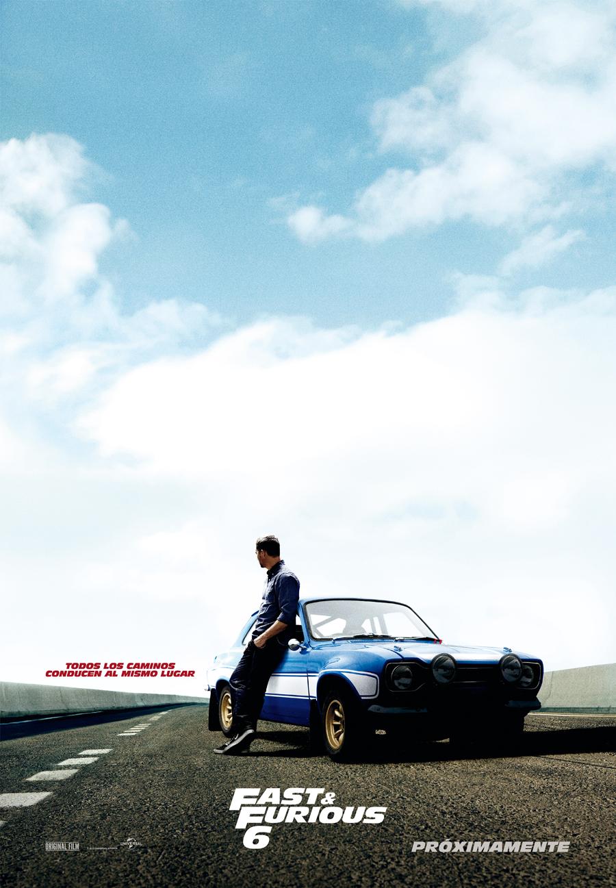 Consigue un dossier de prensa de Fast & Furious 6