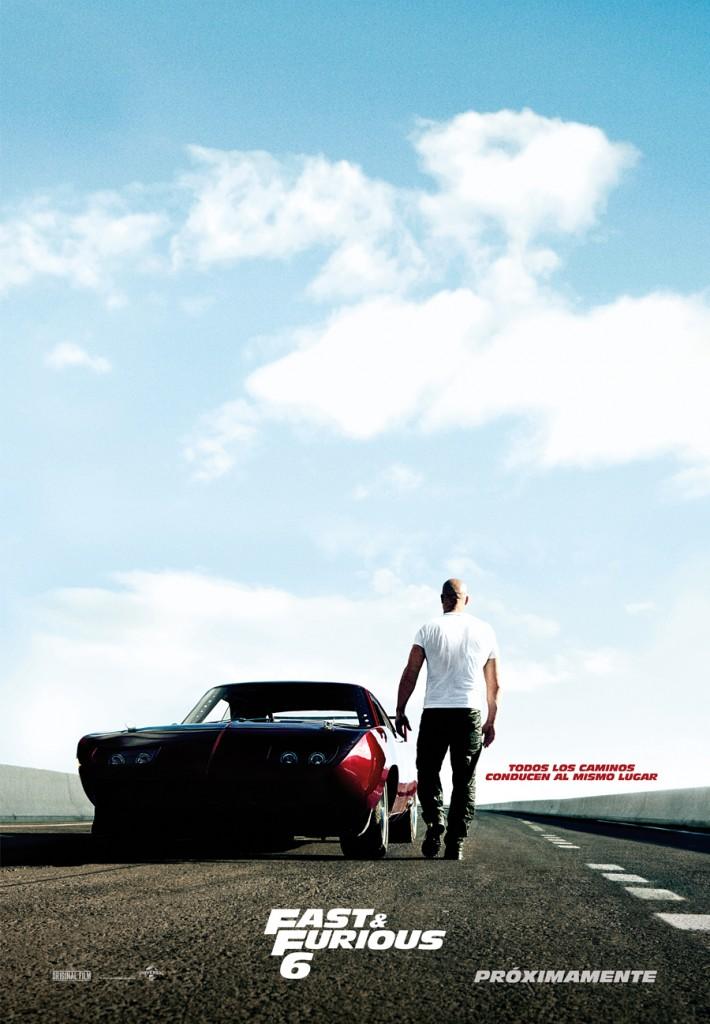 Fast & Furious 6 - Teaser poster Vin Diesel