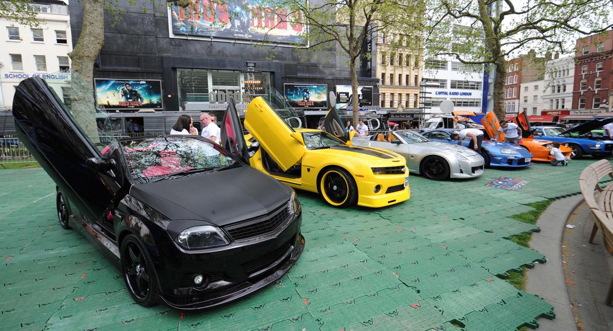 Los coches de la saga Fast & Furious (A todo gas)