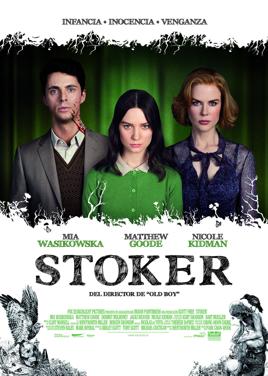 """Stoker: Una familia """"rarita"""""""
