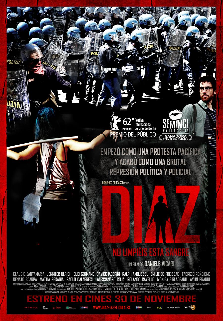 Diaz, no limpiéis esta sangre: Porras que rompieron derechos