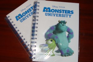 Cuadernos Monstruos University