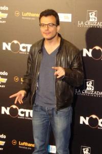 Juan Carlos Medina en la presentación de Insensibles