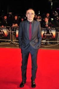Danny Boyle en la premier en Londres de Trance