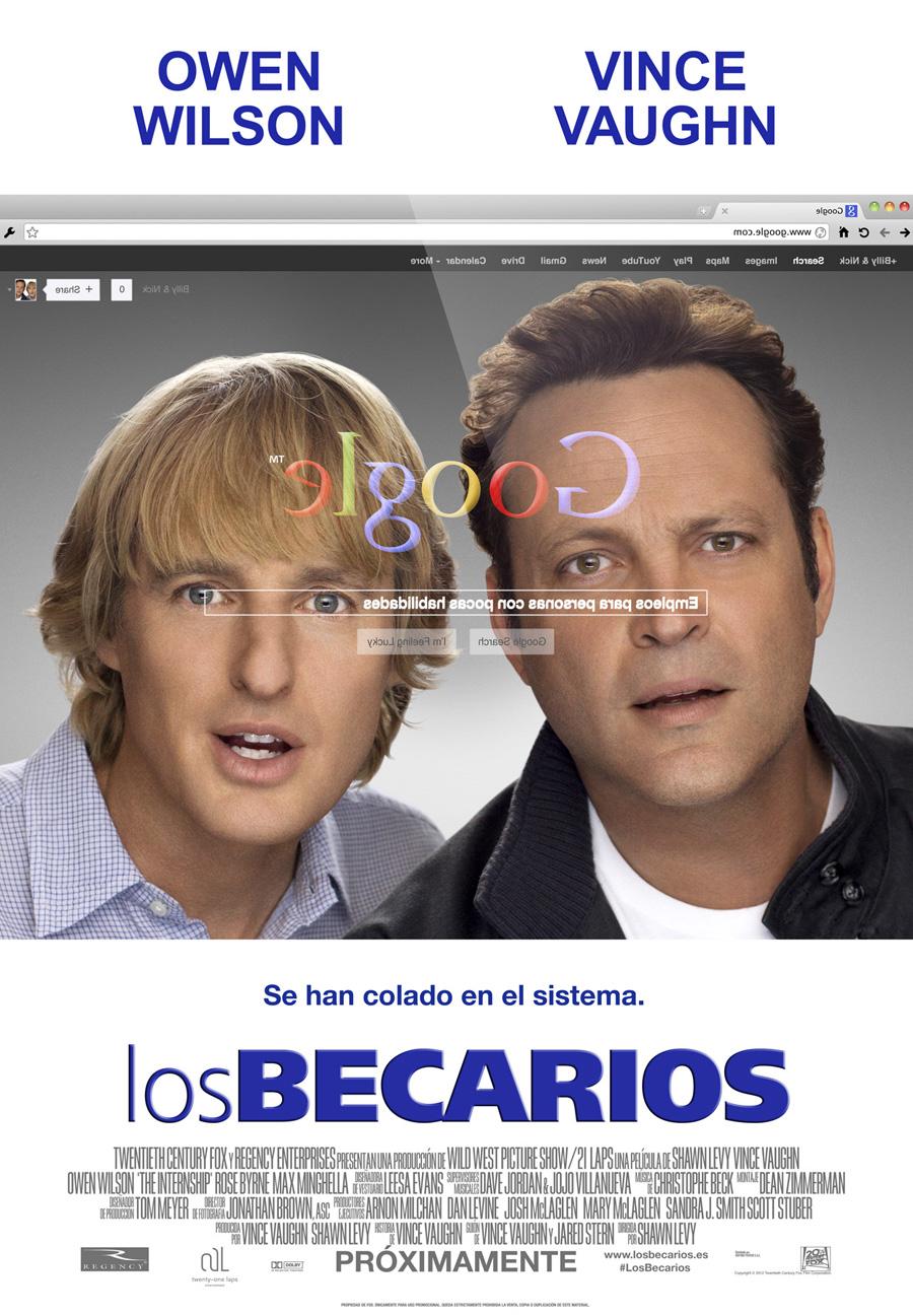 """Los becarios: """"Carrozas"""" en Google"""