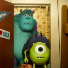 Sulley y Mike en Monstruos University