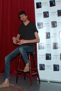 Javier Botet en la presentación del DVD/Blu ray de MAMÁ