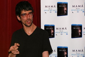 Javier Botet en la presentación del DVD/Blu ray de MAMÁ (2)