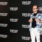 Santiago Segura en la presentación de Tres 60