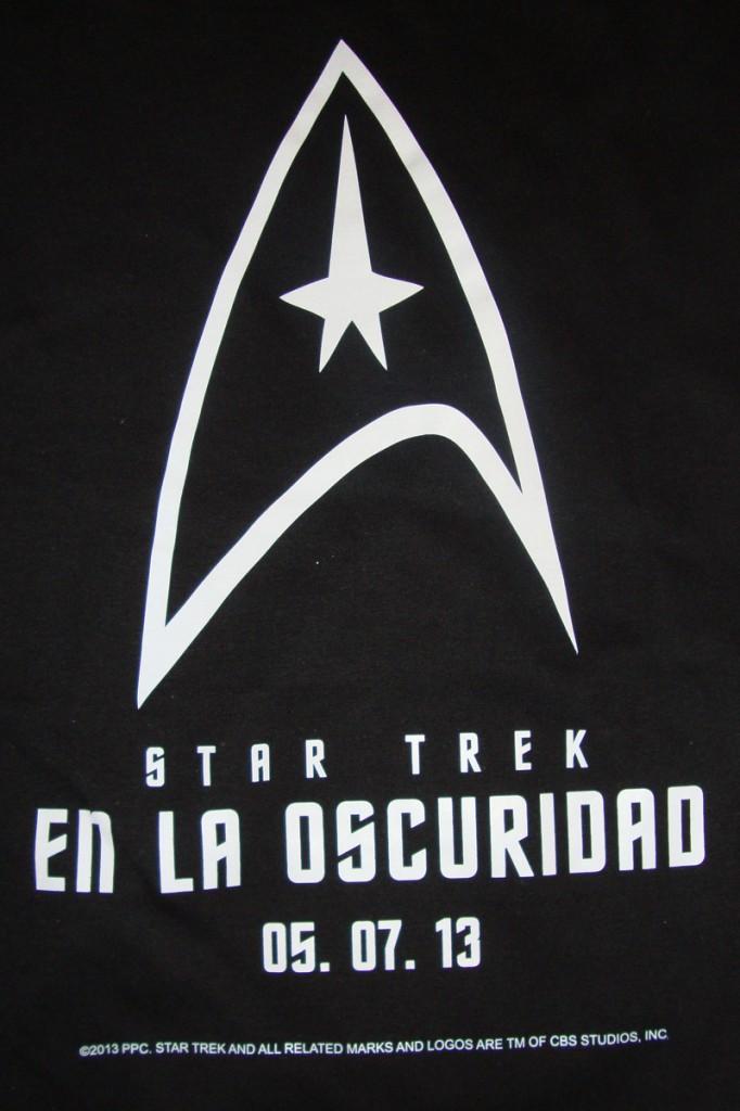 Logo camiseta Star Trek: En la oscuridad