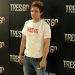 Adam Jezierski en la presentación de Tres 60