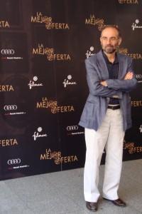 Giuseppe Tornatore en la presentación de La mejor oferta (2)