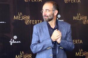 Giuseppe Tornatore en la presentación de La mejor oferta