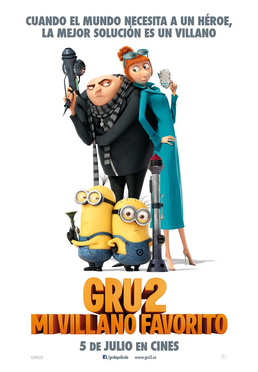 Gru – Mi villano favorito 2: Nuevo héroe busca novia