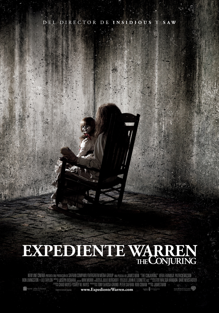 Expediente Warren – The conjuring:  Los auténticos cazafantasmas