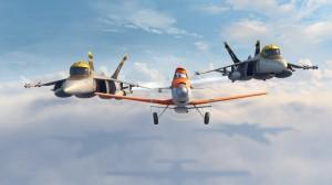 Bravo, Dusty, y Echo en Aviones (Planes)