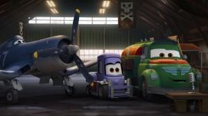 Skipper, Dottie, y Chug en Aviones (Planes)