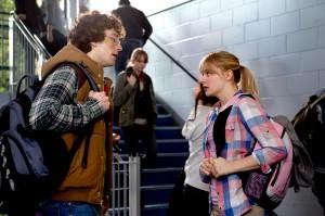 Aaron Taylor-Johnson y Chloë Grace Moretz en Kick Ass 2 - Con un par