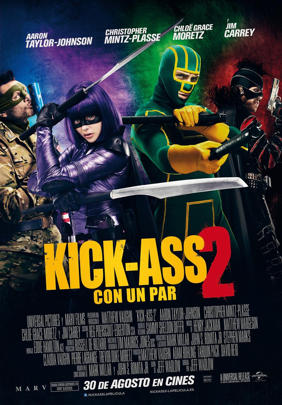 Kick-Ass 2 – Con un par: Golpea pero no noquea