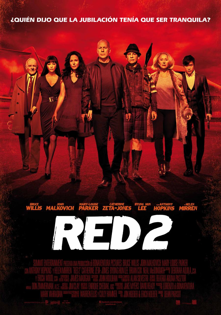 RED 2: Más travesuras de la vieja escuela