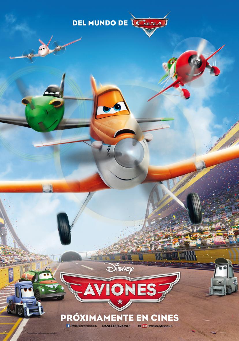 Aviones (Planes): A rebufo de Cars