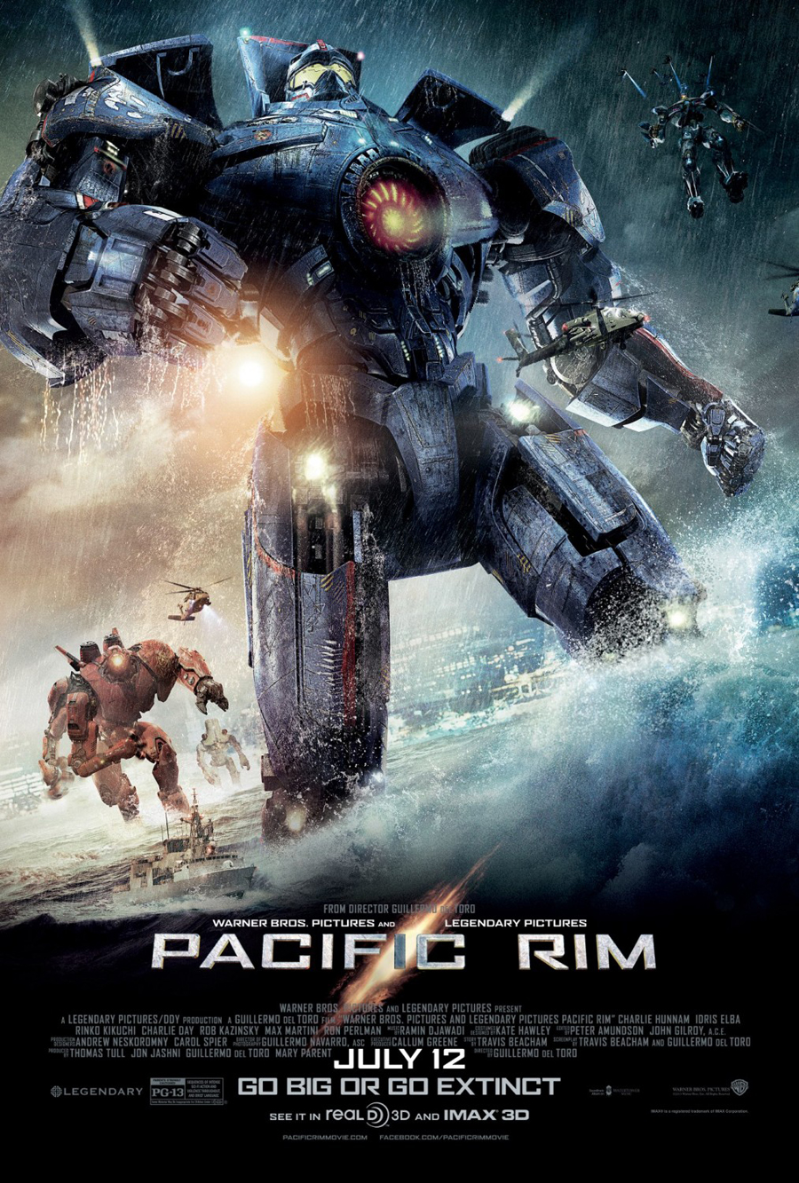 Pacific Rim: Mamporros colosales