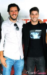Miguel Larraya y Luis Fernández en la presentación de Afterparty