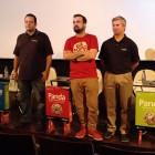 Nacho Vigalondo junto a los directivos de Panda Security en la presentación de sus nuevos productos (2)