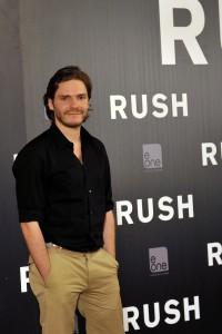 Daniel Brühl en la presentación de Rush